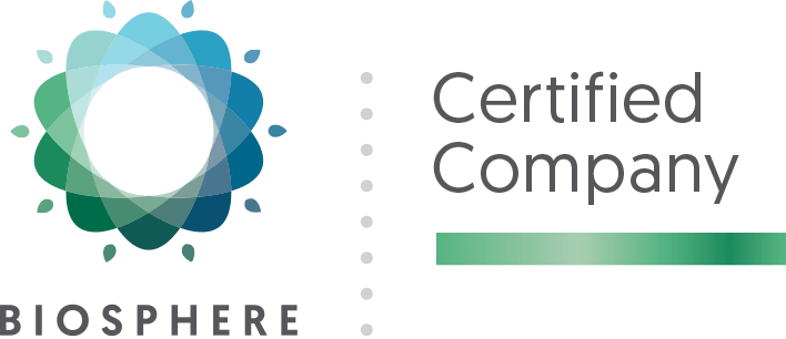 Biosphere Certified Company